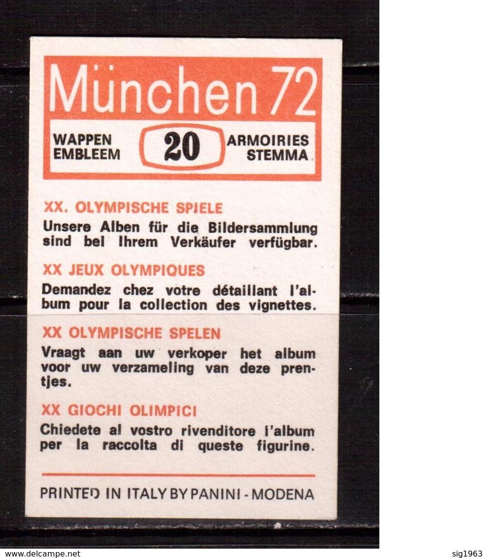 Olympic Games-1972, FIFA, Panini, Football, Soccer, Fussball,calcio - Autres