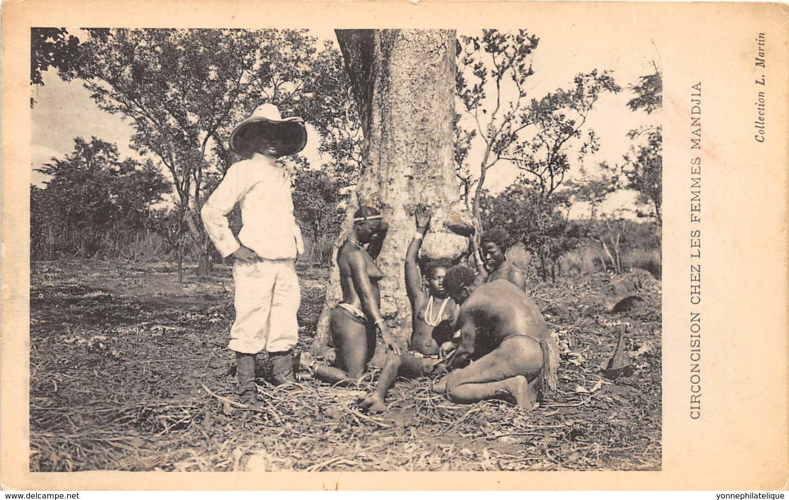 Oubangui Chari - Scenes Et Types H / 05 - Circoncision Chez Les Femmes Mandjia - Centrafricaine (République)