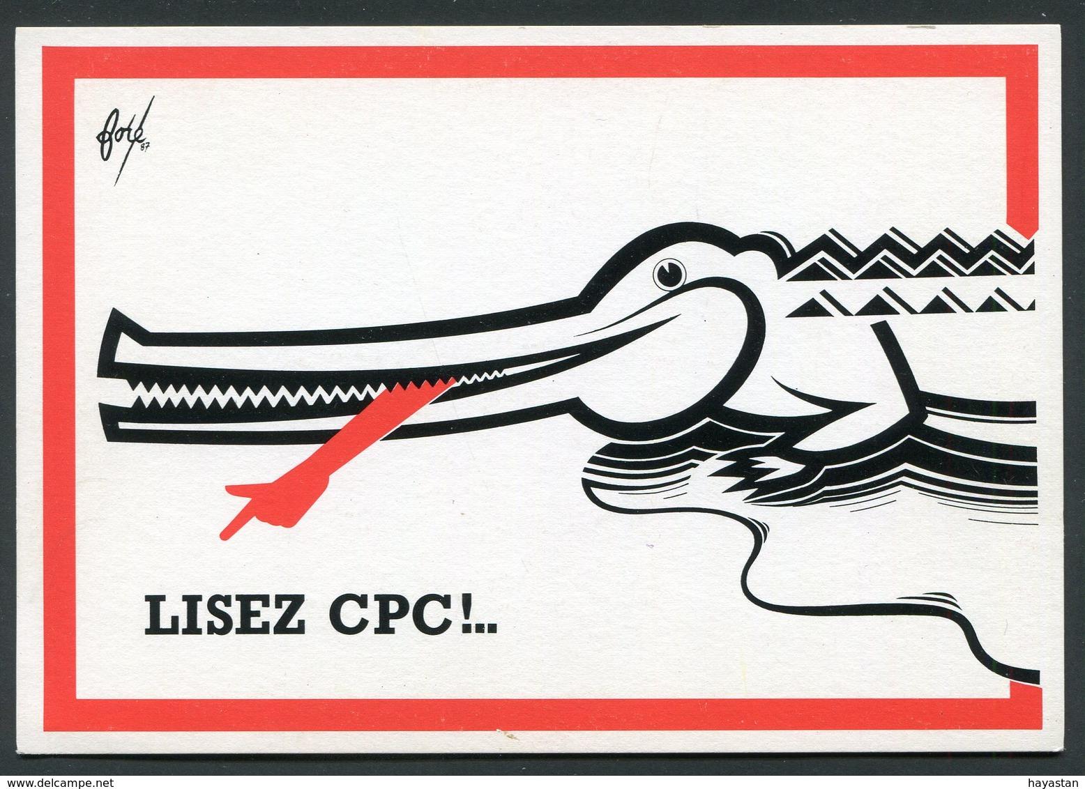 LISEZ CPC - CARTES POSTALES ET COLLECTIONS - DESSIN DE FORE - 1987 - French
