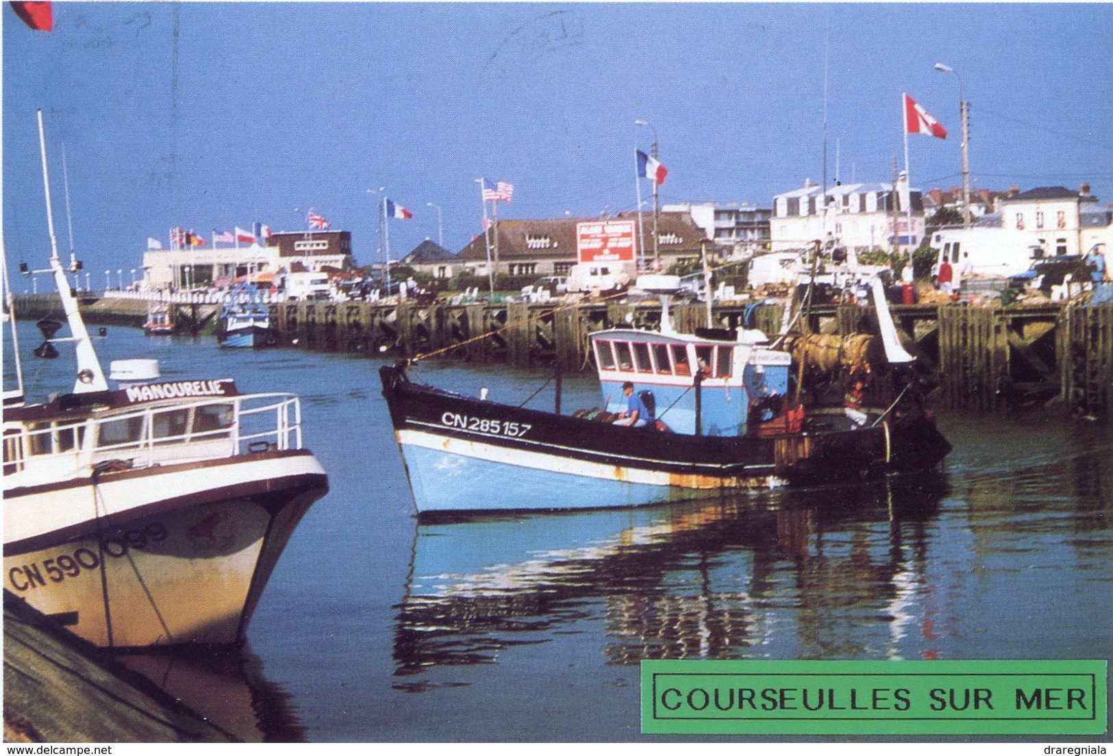 Courseulles Sur Mer - Le Port De Pêche - Courseulles-sur-Mer