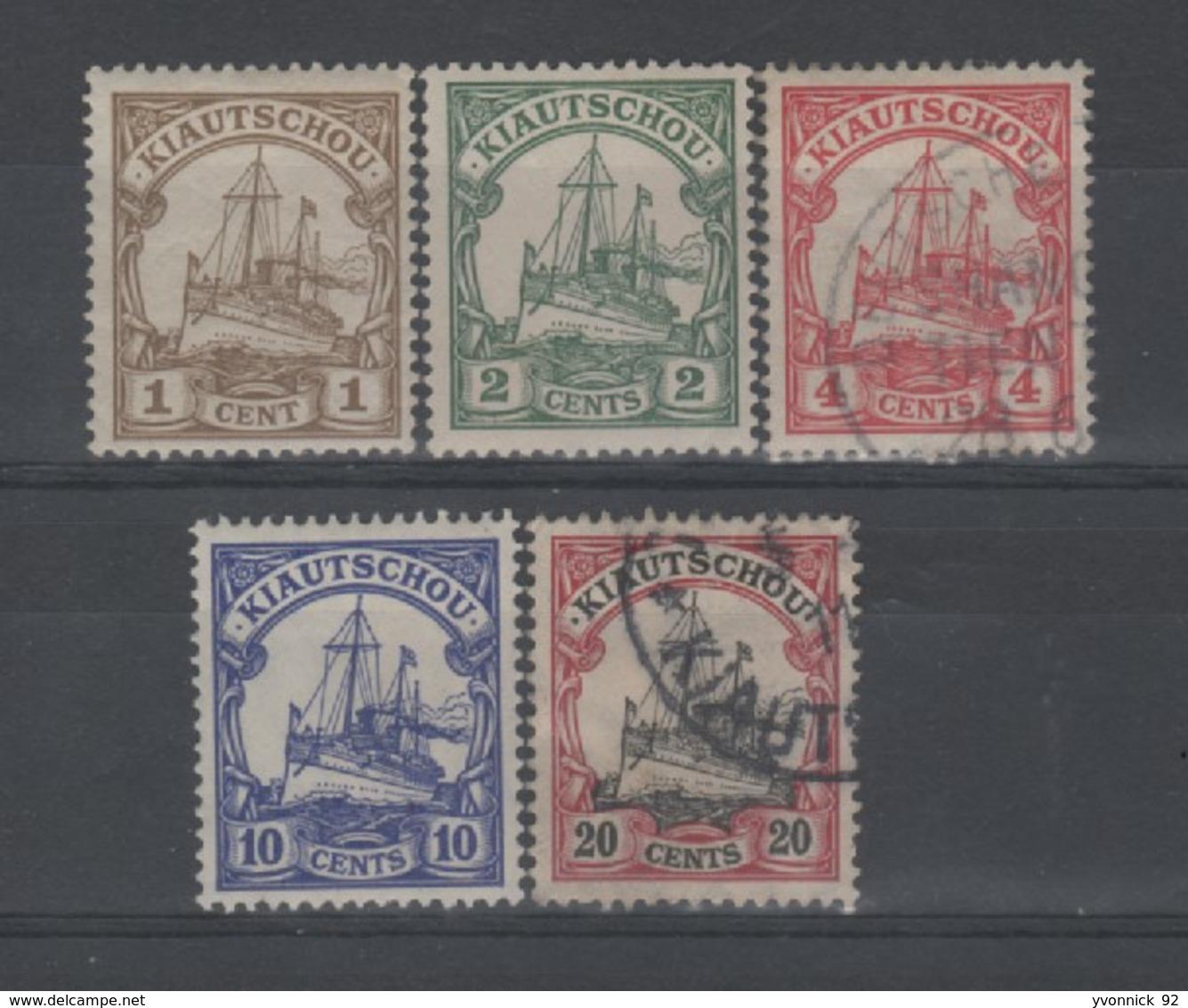 Kiao-Tchéou (colonie Allemande )n°14/18 (1905 ) - Colonie: Kiautchou