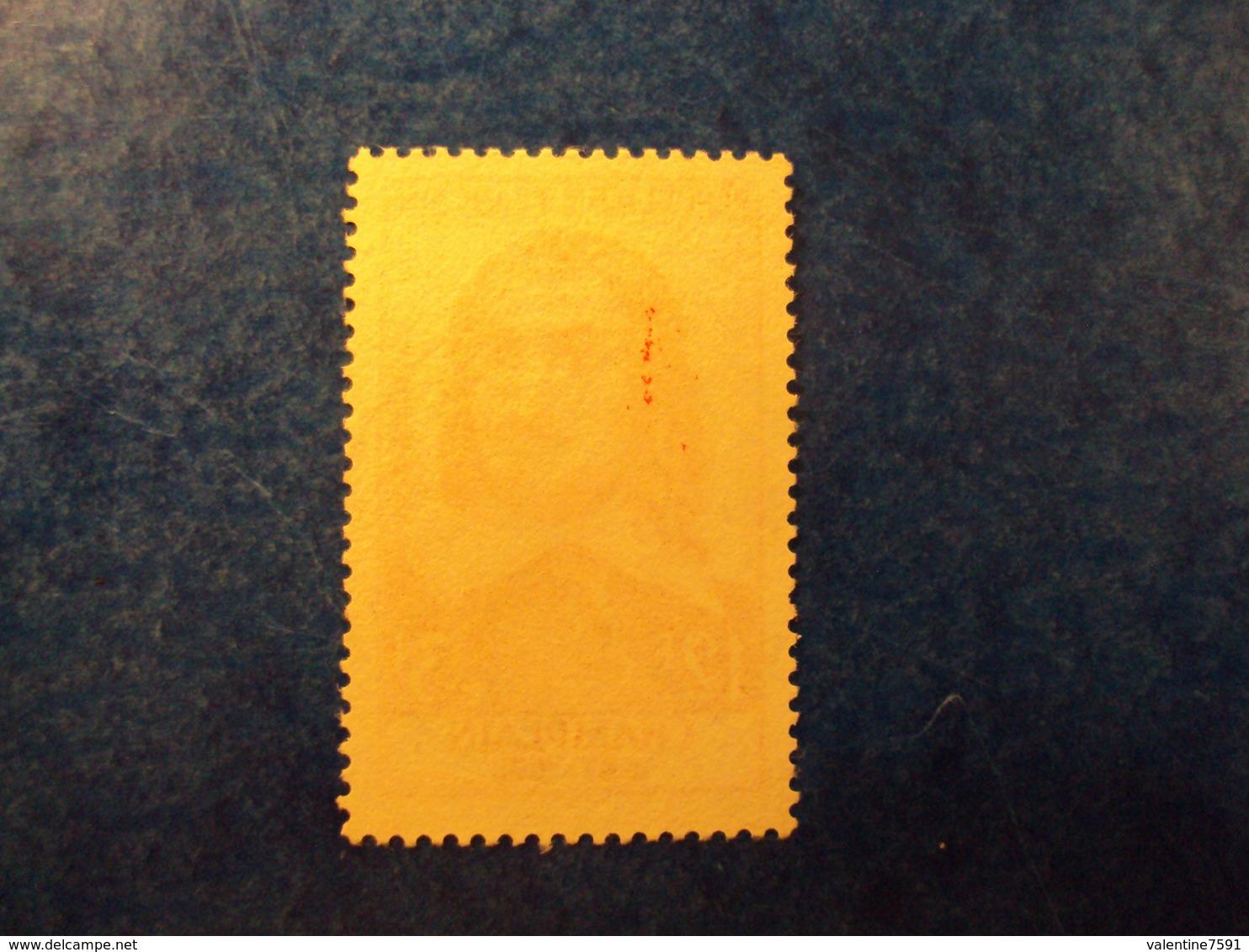 """1955  -timbre Oblitéré N°  1068    """"   Champlain      """"       Cote    7     Net   2.30 - France"""
