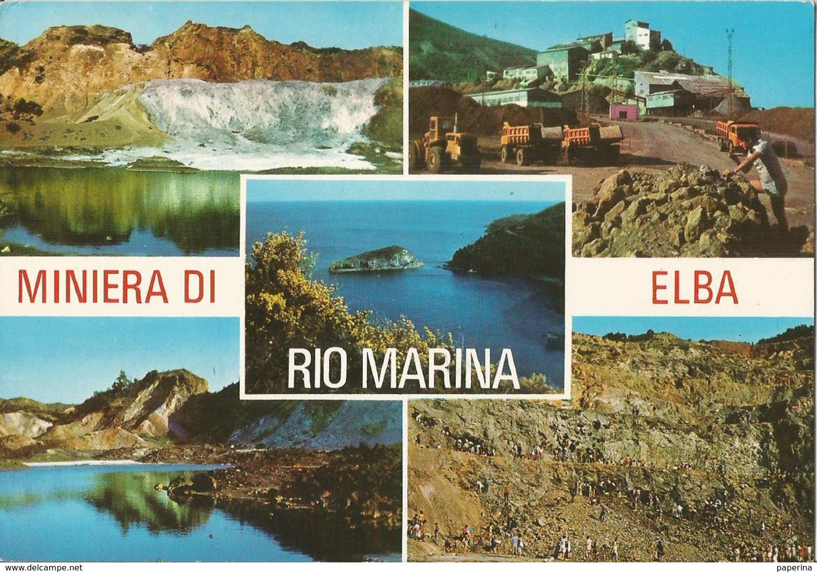 MINIERA DI ELBA RIO MARINA    (6) - Italia