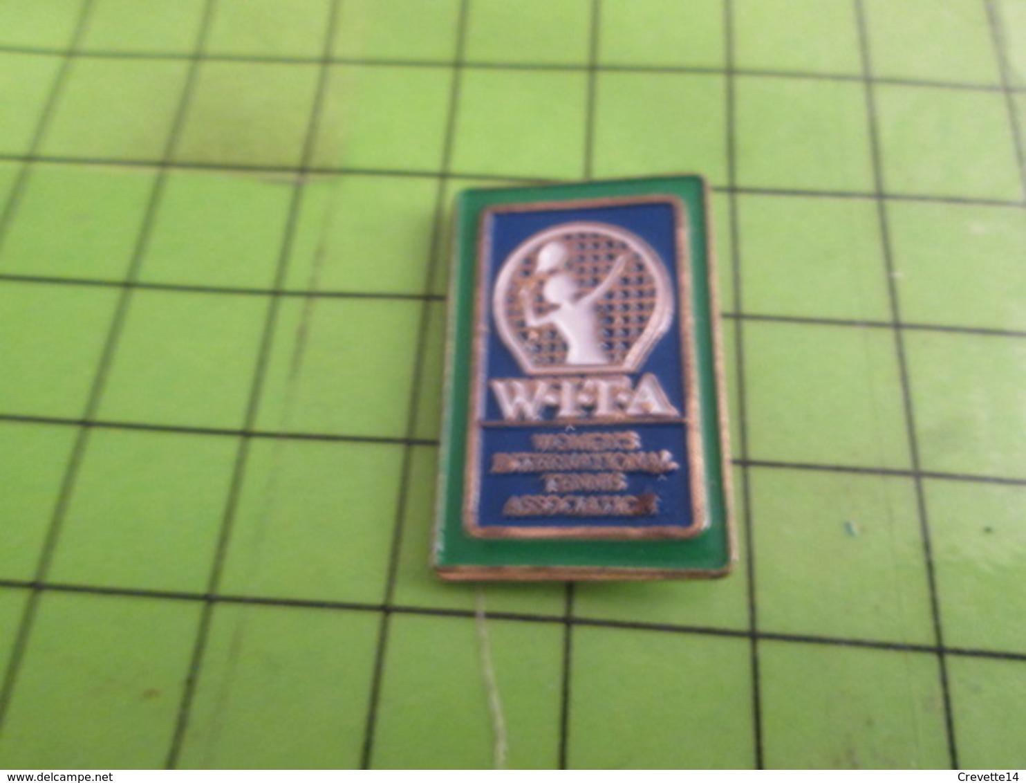 317 Pins Pin's / Rare & Belle Qualité THEME SPORTS / TENNIS FEMININ WITA - Tennis
