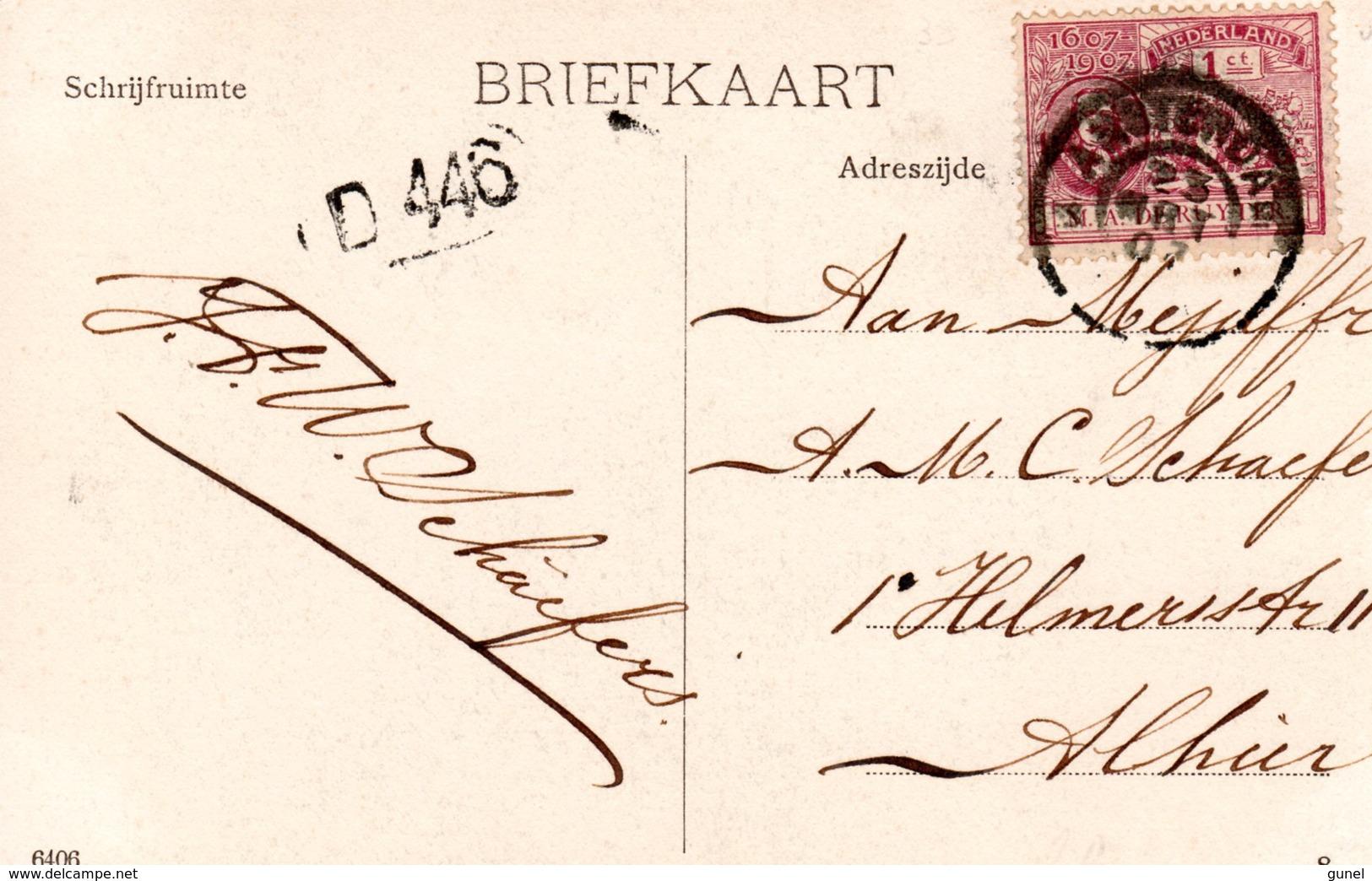 23 MRT 07 Ansicht Met Enkelfrankering NVPH88  Lokaal Te Amsterdam - Periode 1891-1948 (Wilhelmina)