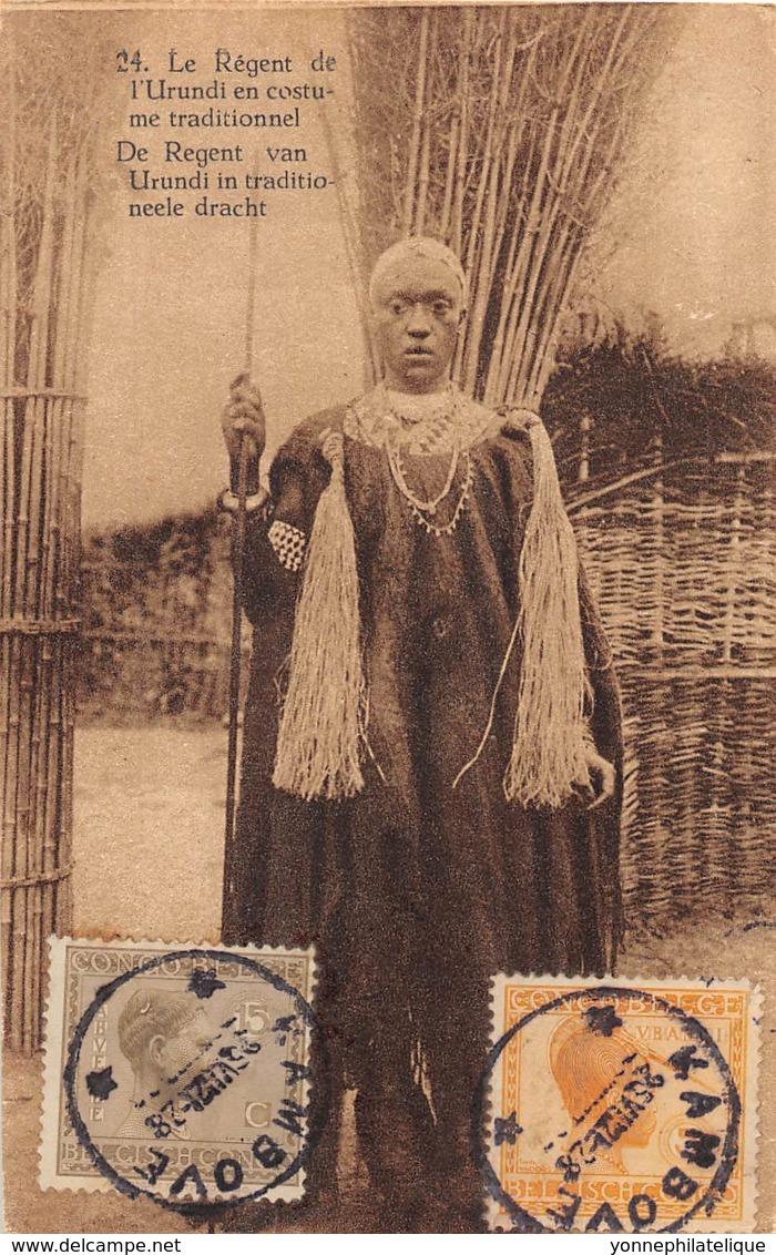Ruanda Urundi / 01 - Le Régent En Costume Traditionnel - Belle Oblitération - Ruanda-Urundi