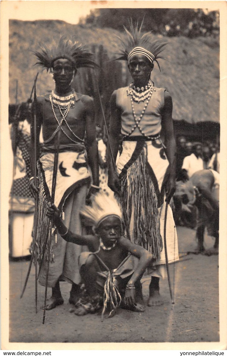 Ruanda Urundi / 15 - Danseurs - Ruanda-Urundi