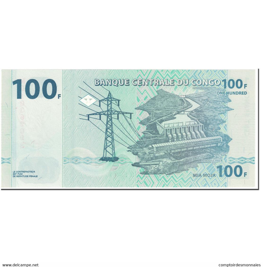 Billet, Congo Democratic Republic, 100 Francs, 2013, 2003-06-30, KM:98a, NEUF - Congo