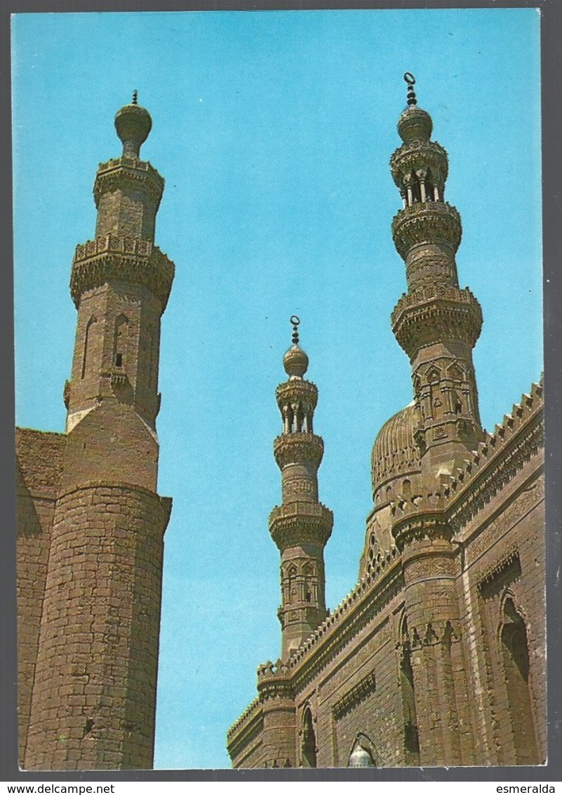 CP -Egypt-Citadel- CAIRO ,Sultan Hassan And El Riffaie  Mosques - Islam
