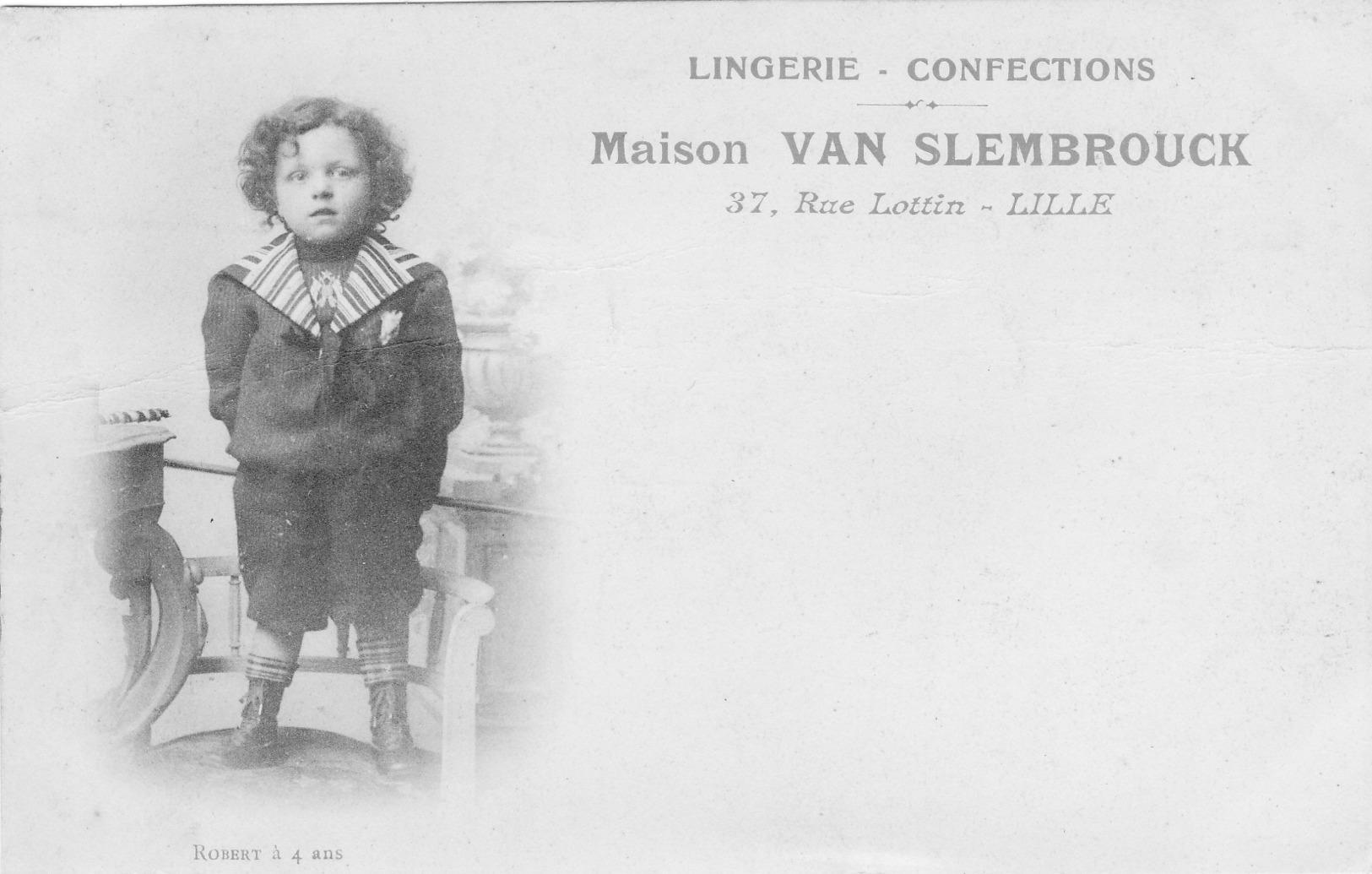 Maison Van Slembrouck  A Lille - Lille