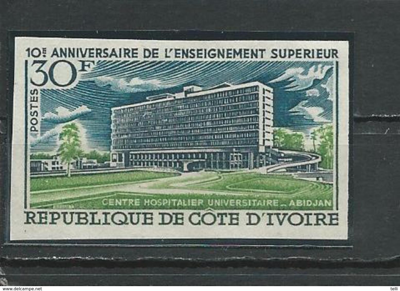 COTE IVOIRE Scott 288 Yvert 295 (1) ** Non Perforé Cote 5,20 $ 1970 - Côte D'Ivoire (1960-...)