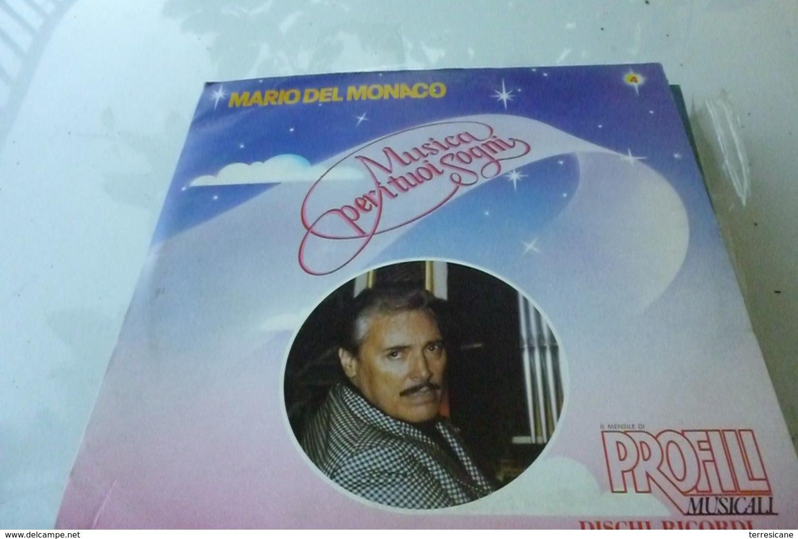 MARIO DEL MONACO PROFILI MUSICALI DISCHI RICORDI BOOKLET COMPRESO - Collections Complètes