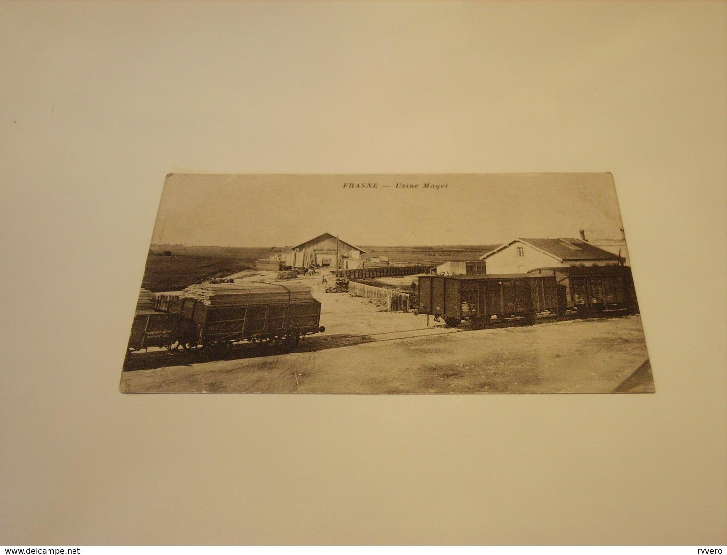 FRASNE USINE MAYET 1918 - Autres Communes