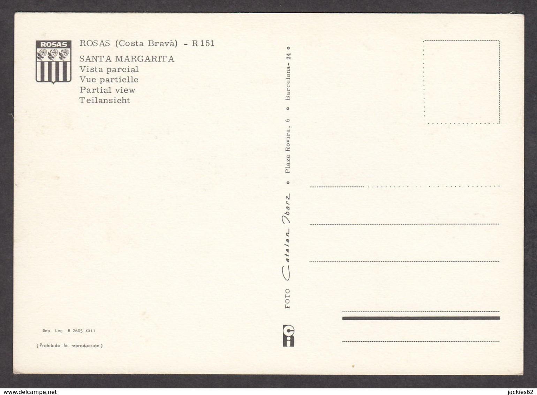 81391/ ROSAS, Roses, Santa Margarita, Vista Parcial - Gerona