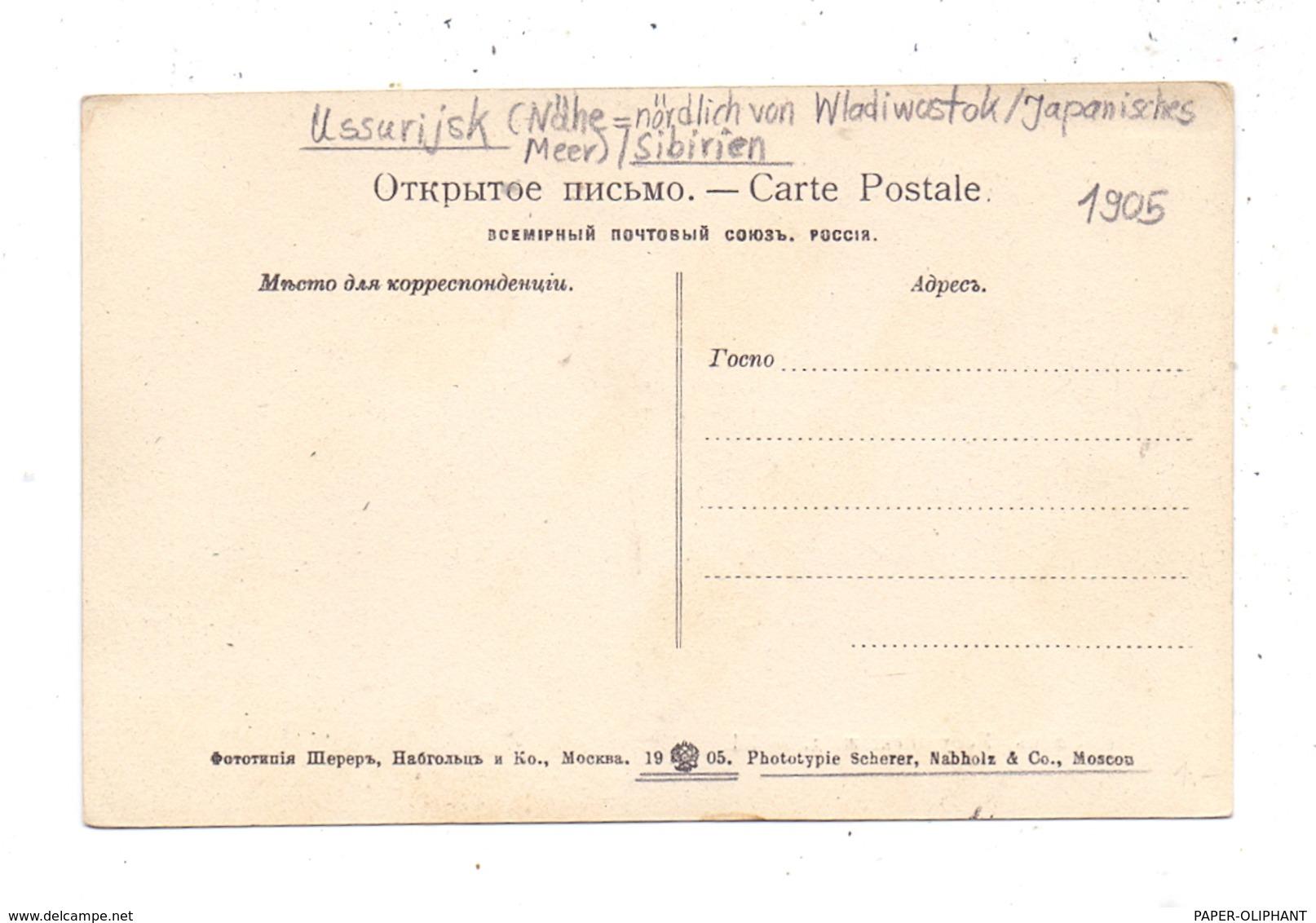 RU 692500 USSURIJSK, Angelandete Fischer, 1905 - Russland