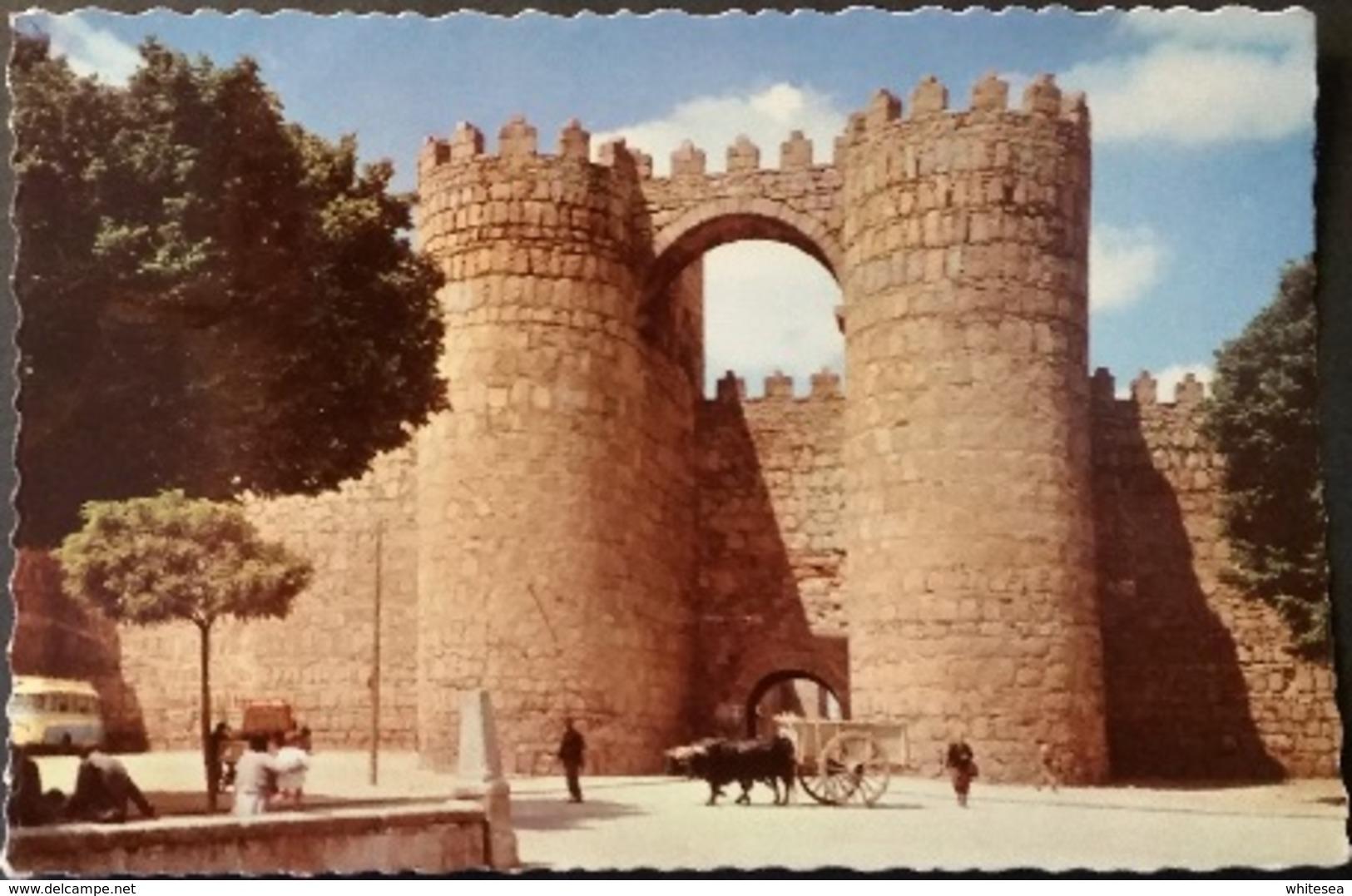 Ak Spanien - Avila - Porte De Saint Vincent - Ávila