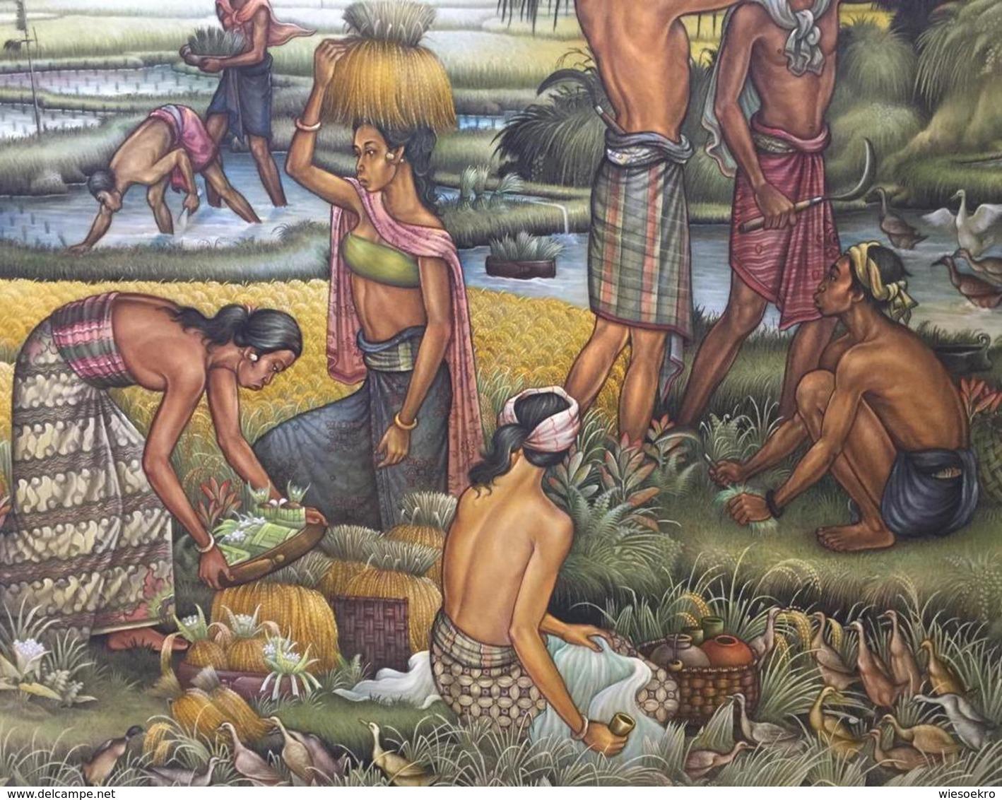 Great Harvest By I Wayan Sadia - Oils