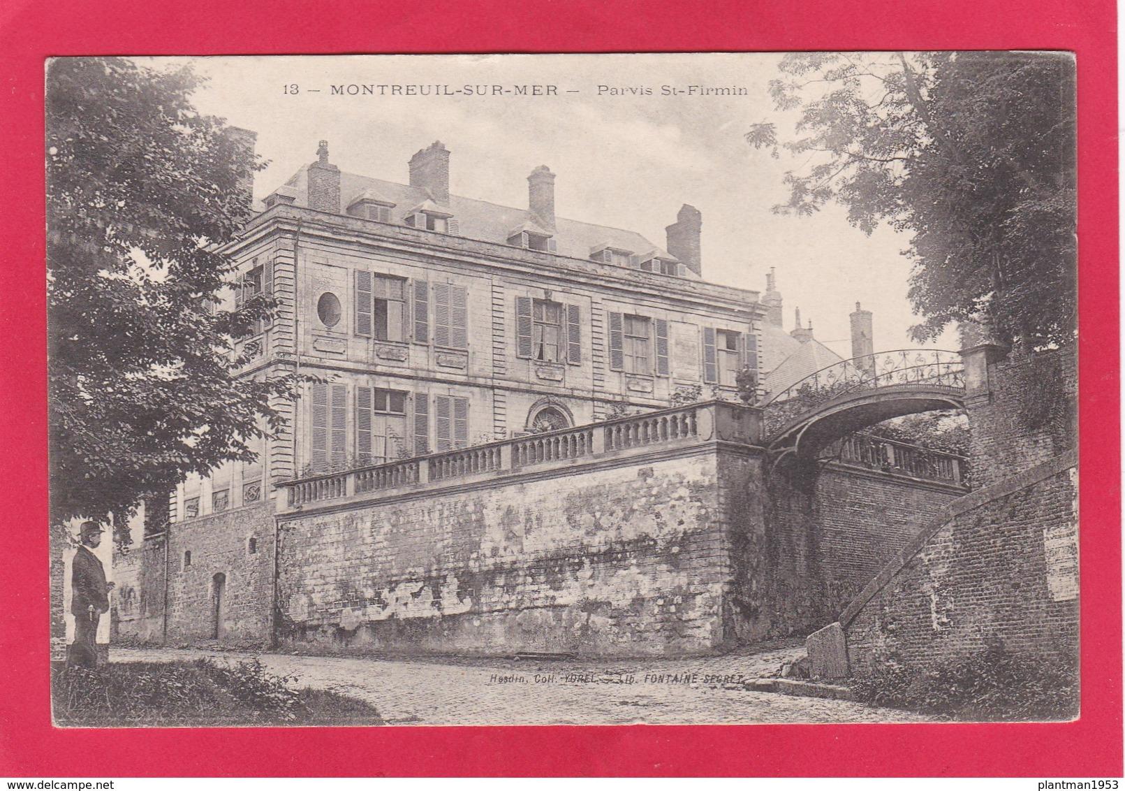 Old Post Card Of Montreuil-sur-Mer, Hauts-de-France, France,K61 - Montreuil