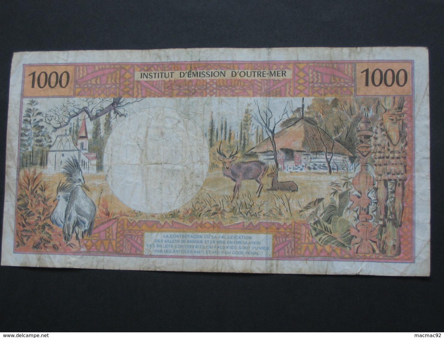 1000 Mille Francs 1996 - Institut D'émission D'outre Mer **** EN ACHAT IMMEDIAT ***** - Papeete (Polynésie Française 1914-1985)