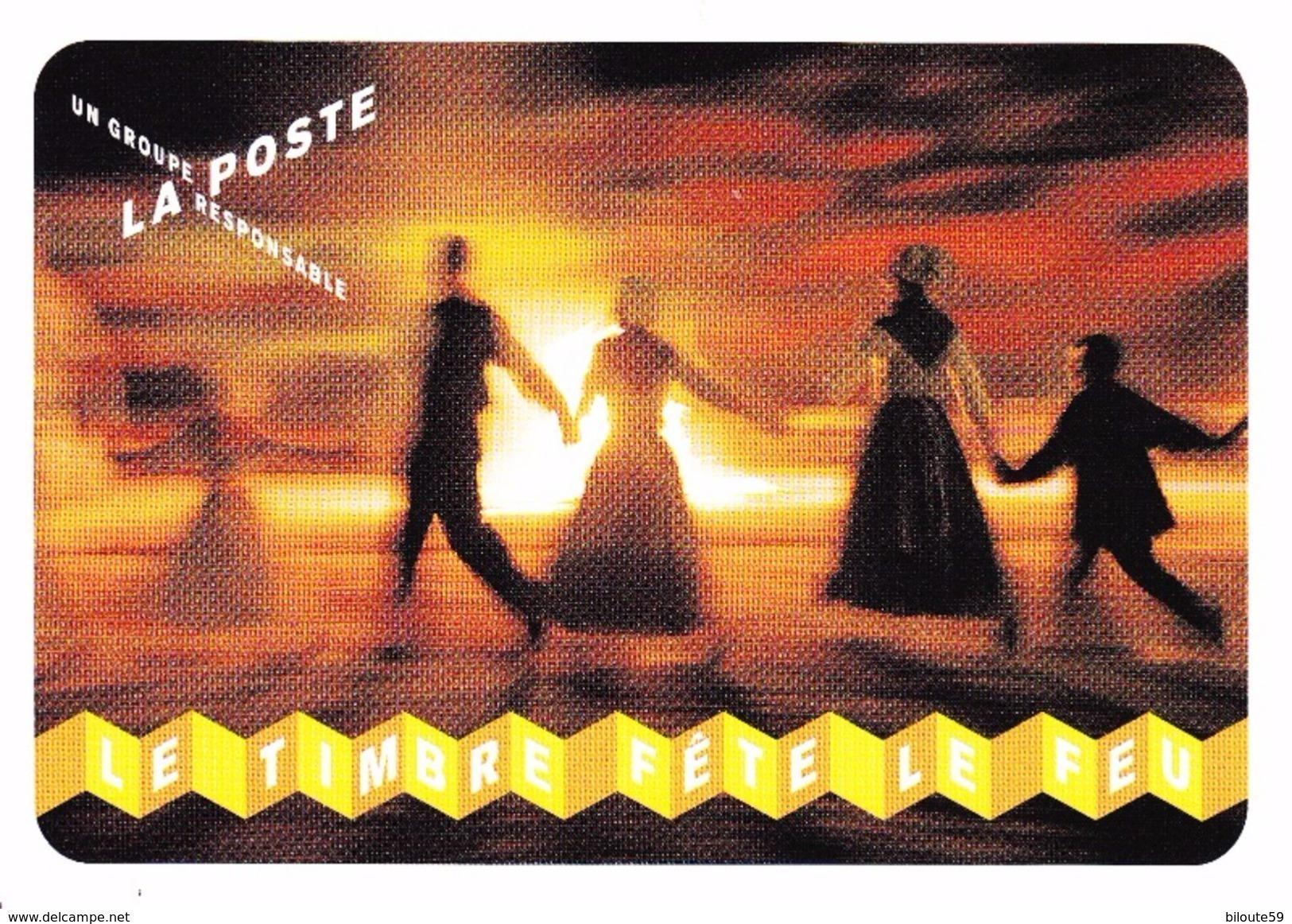 Carte Postale Type Beaujard éditée à L'occasion De La Fête Du Timbre 2012 (P53) - Prêts-à-poster: Repiquages /Beaujard