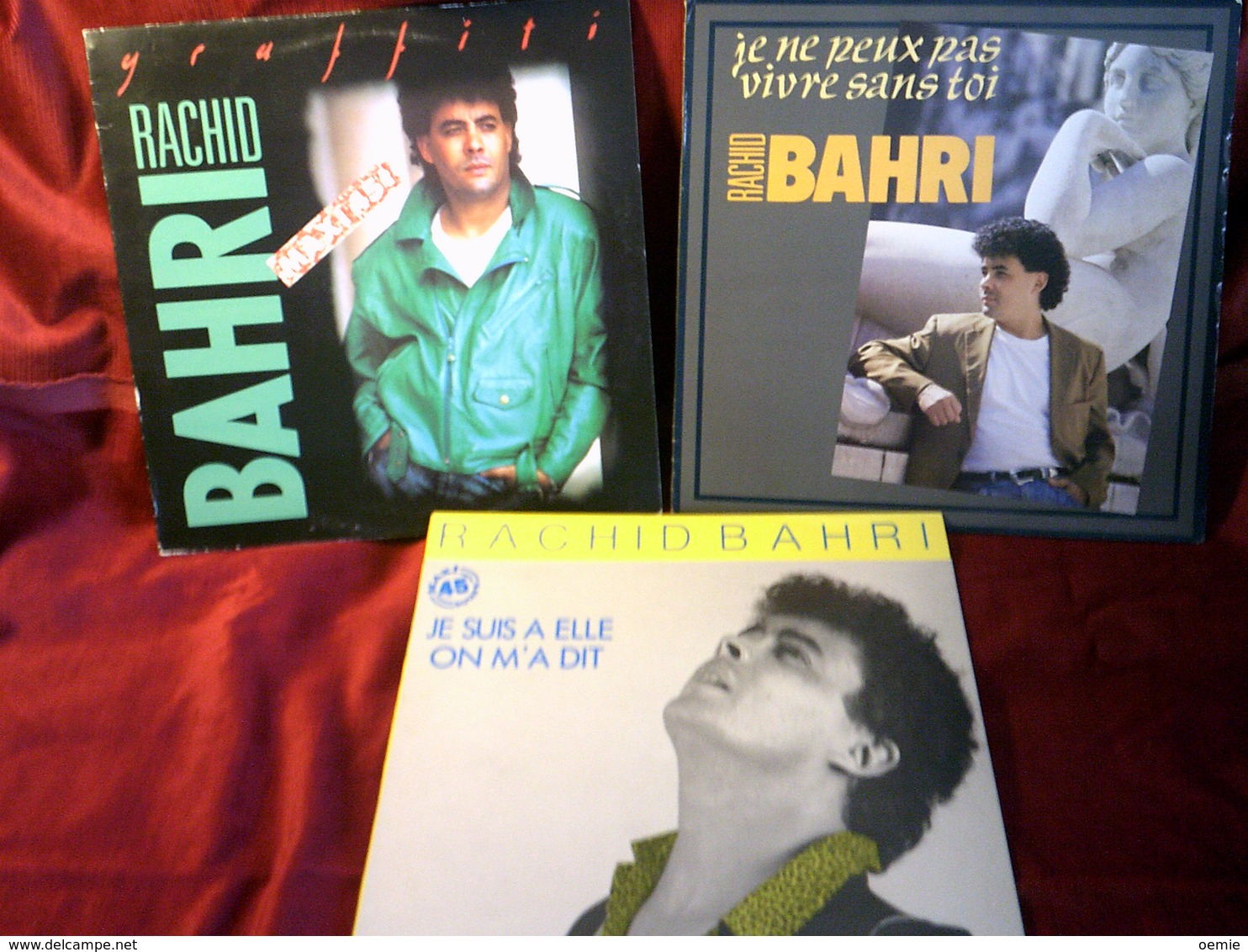 RACHID  BAHRI  °°  COLLECTION DE 5 VINYLES - Collections Complètes