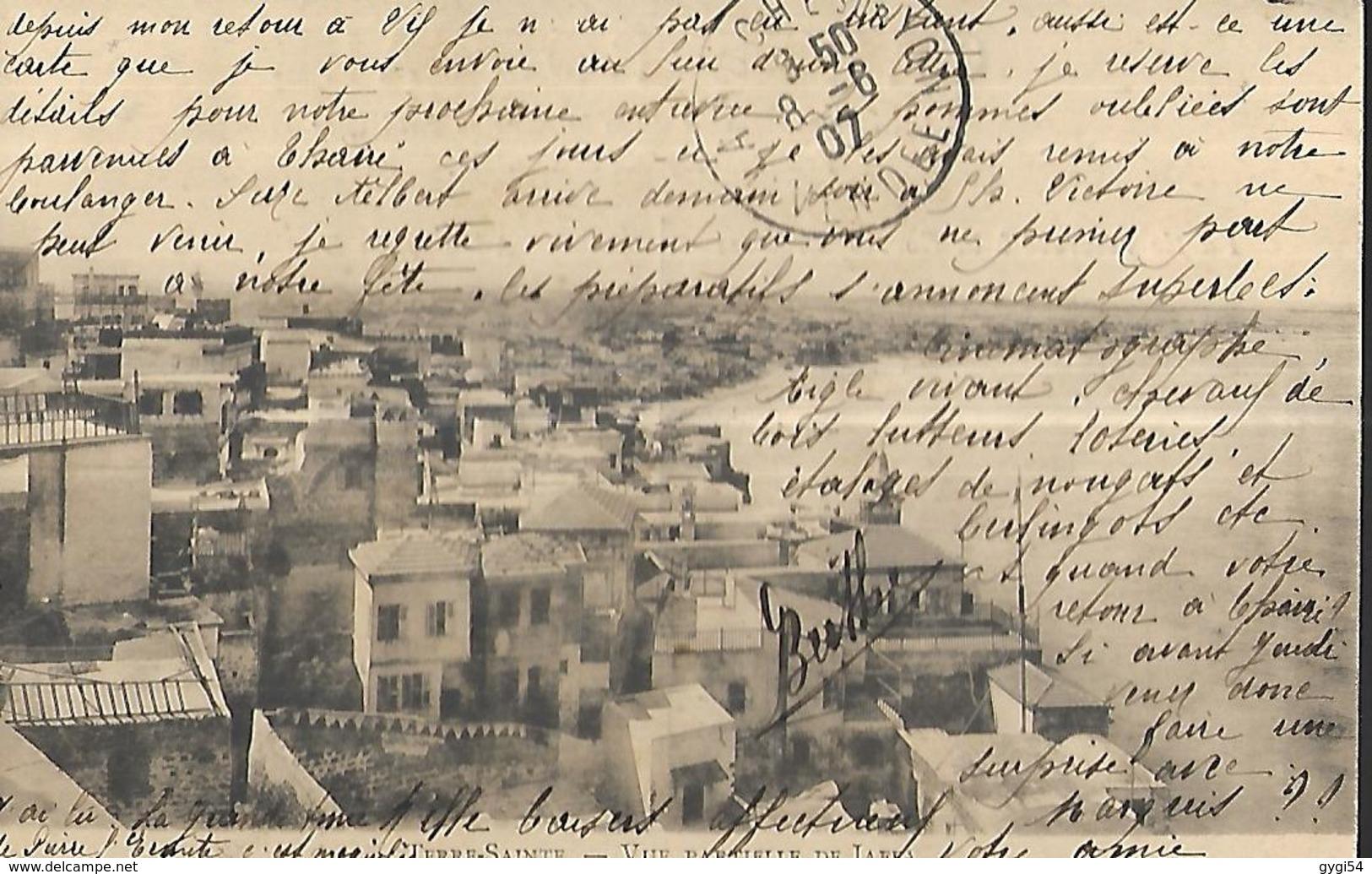 Terre Sainte  Vue Partielle De Jaffa    CPA 1907 - Palestine