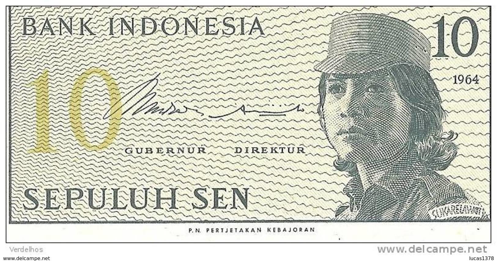 INDONESIE 10 LIMA SEN 1964 / NEUF - Indonésie