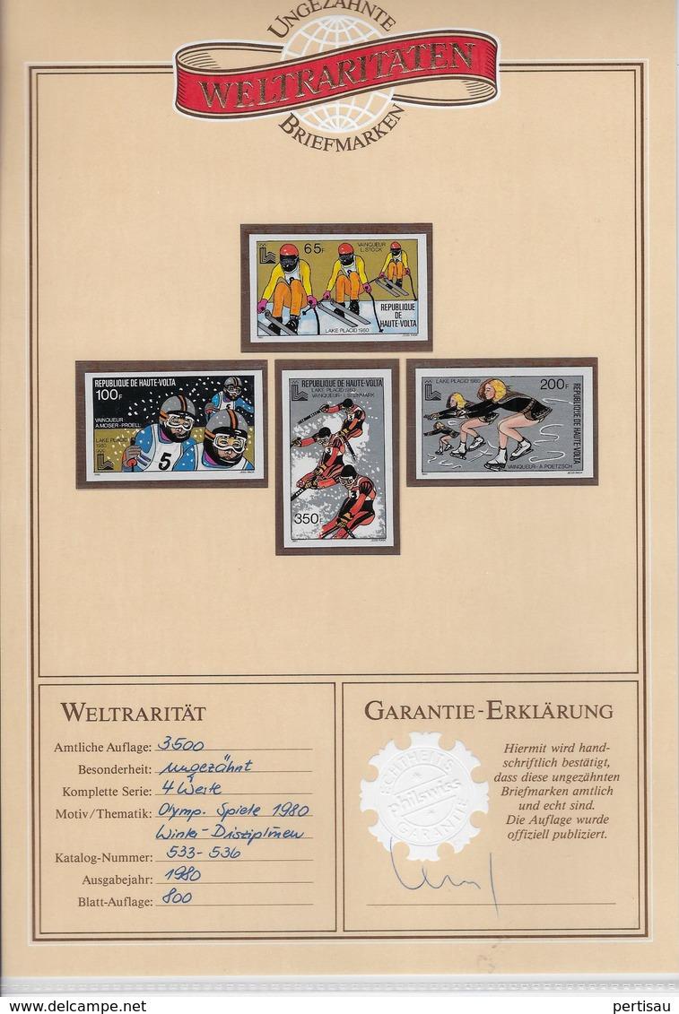 1980 Ongetande - Haute-Volta (1958-1984)