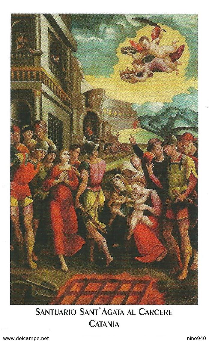 S. AGATA V. E M. - Catania - M - PR - Mm. 72 X 116 - Religione & Esoterismo
