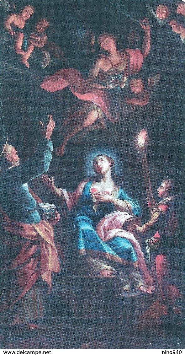 S. AGATA V. E M. - Catania - M - PR - Mm. 70 X 130 - Religione & Esoterismo