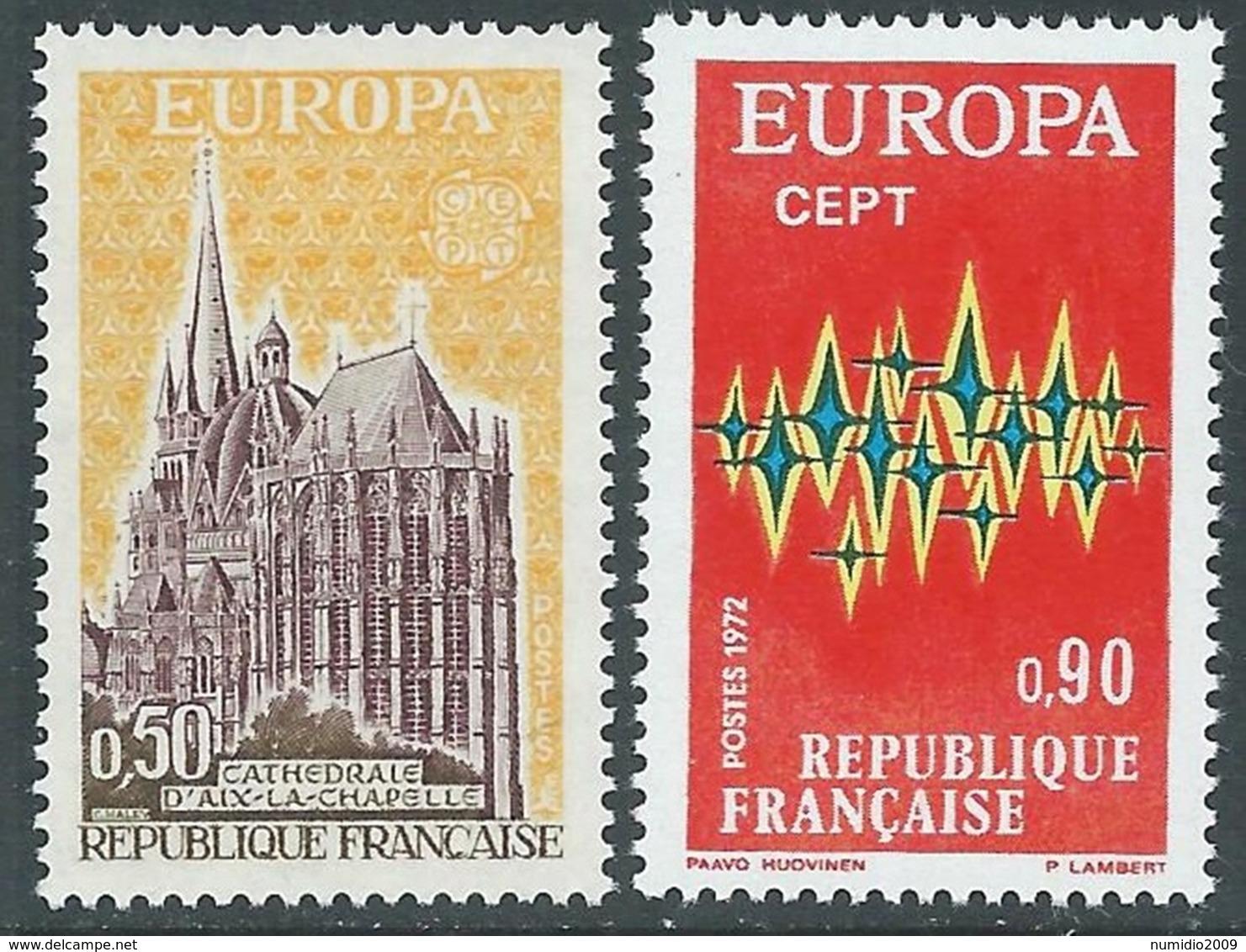 1972 EUROPA UNITA CEPT FRANCIA MNH ** - F11 - 1972