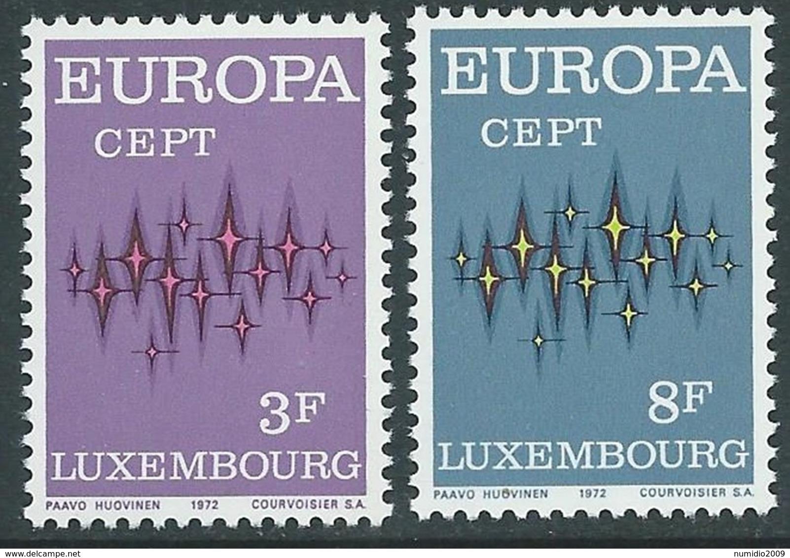 1972 EUROPA UNITA CEPT LUSSEMBURGO MNH ** - F11-2 - 1972
