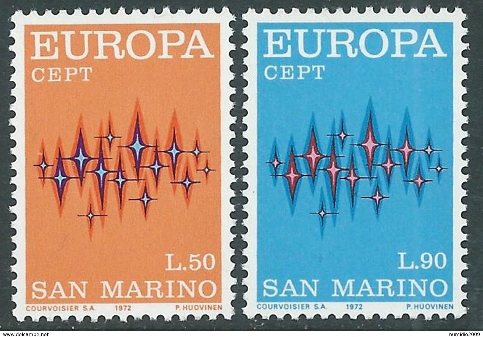 1972 EUROPA UNITA CEPT SAN MARINO MNH ** - F11-3 - Europa-CEPT