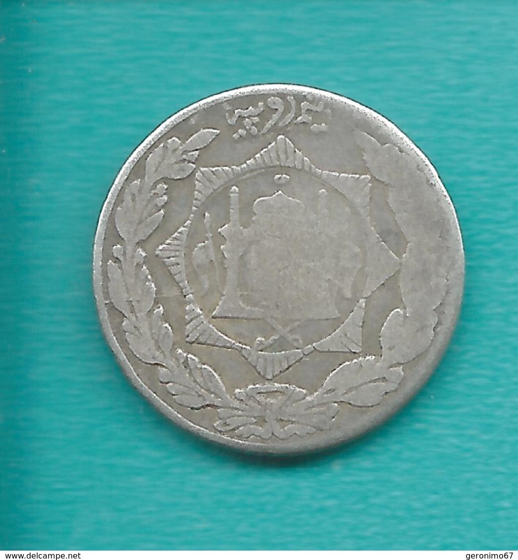 Afghanistan - Amanullah - ½ Rupee - SH1298 (1919) KM976 - Afghanistan