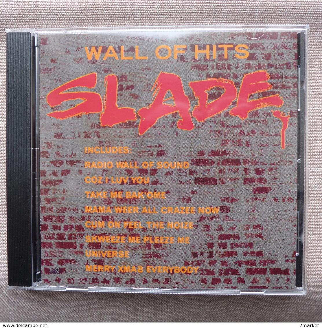 CD/  Slade - Wall Of Hits /  1 CD - Rock