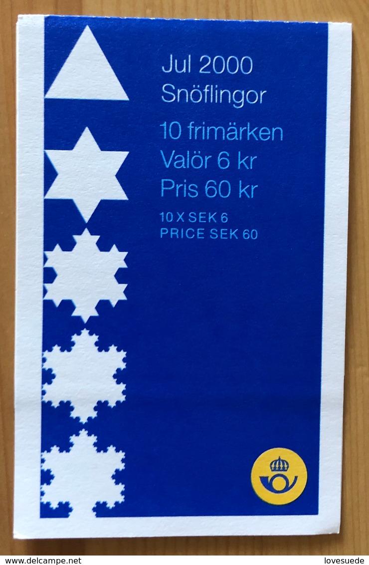 Carnet Suède 2000 Oblitéré - Carnets