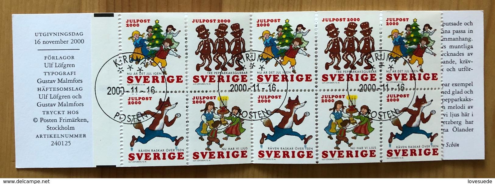 Carnet Suède 2000 Oblitéré - 1981-..