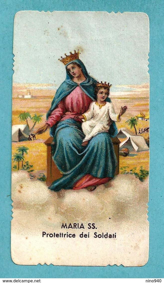 MARIA SS. Protettrice Dei Soldati - E - PR - Mm. 56 X 106 - Religione & Esoterismo