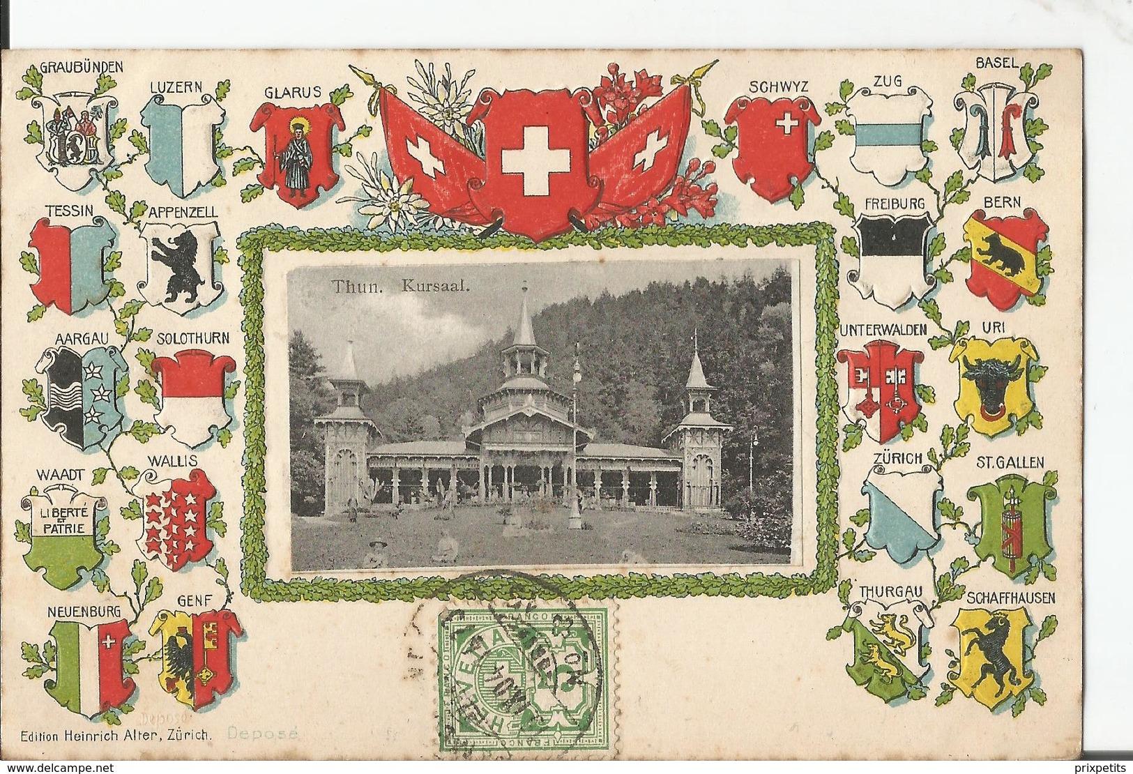 THUN KURSAAL °°°  367 - Suisse