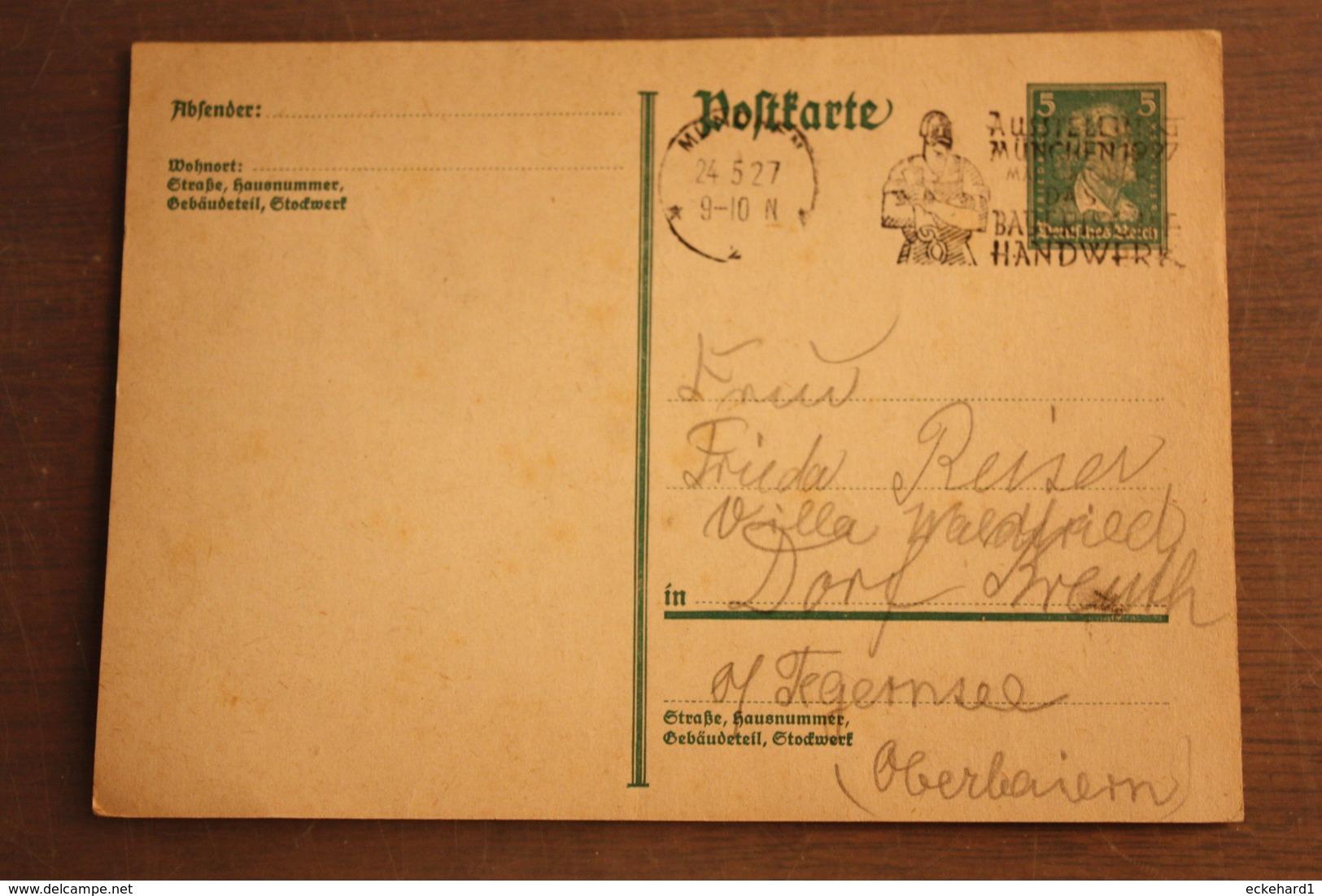 ( 1530 ) GS DR  P 170 I   Gelaufen  -   Erhaltung Siehe Bild - Postwaardestukken