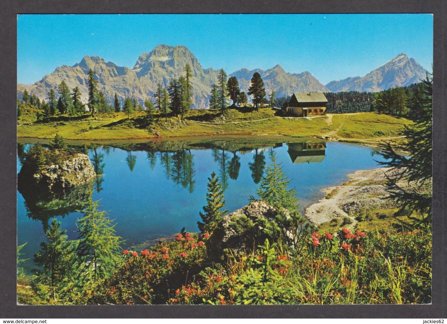 88786/ CORTINA, Dolomiti, Lago Da Lago E Rifugio Palmieri - Italia
