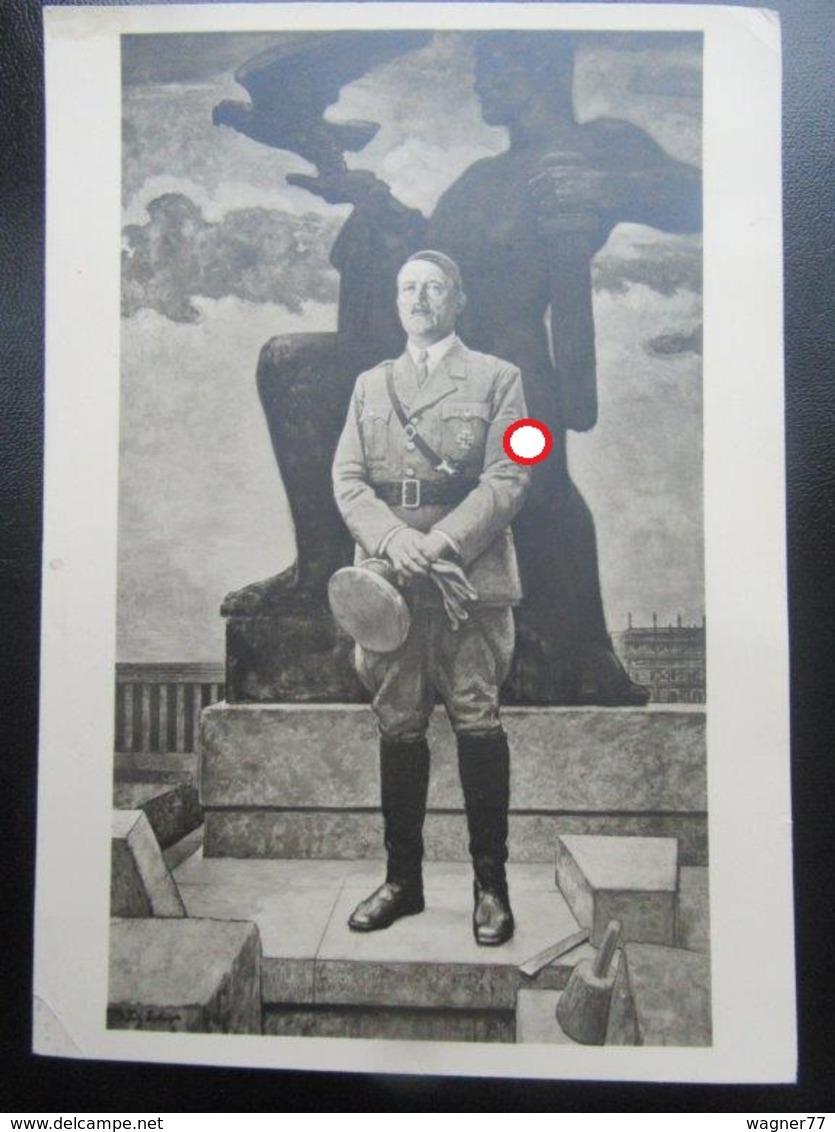Postkarte Postcard Hitler - HDK - Haus Der Deutschen Kunst - Erhaltung I-II - Deutschland