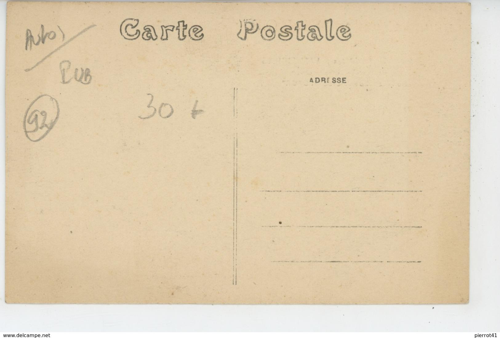 """PUBLICITE - AUTOMOBILES - Carte Pub Pour HUILES & GRAISSE """"FUROR"""" - Etablissement P. DESCROIX à ASNIERES SUR SEINE (92) - Publicité"""