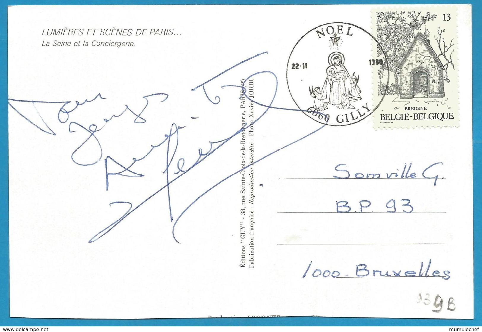 (A939B) - Signature / Dédicace / Autographe Original - Michel SERRAULT - Autographes