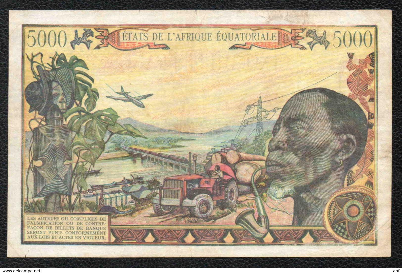 5000F BANQUE CENTRALE - CENTRAFRIQUE - Central African Republic