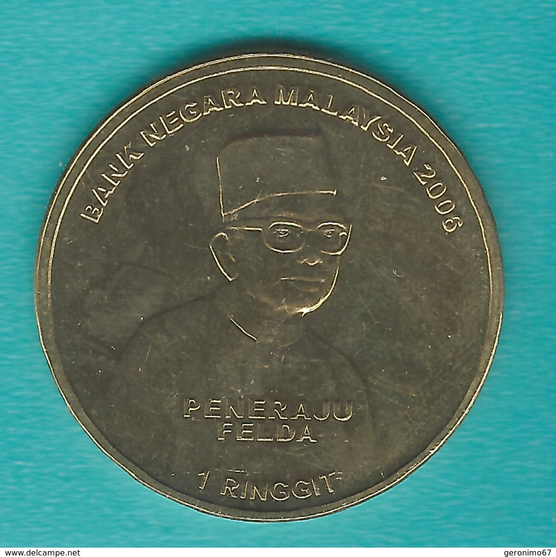 Malaysia - 1 Ringgit - 2006 - Federal Land Authority - KM144 - Malaysie