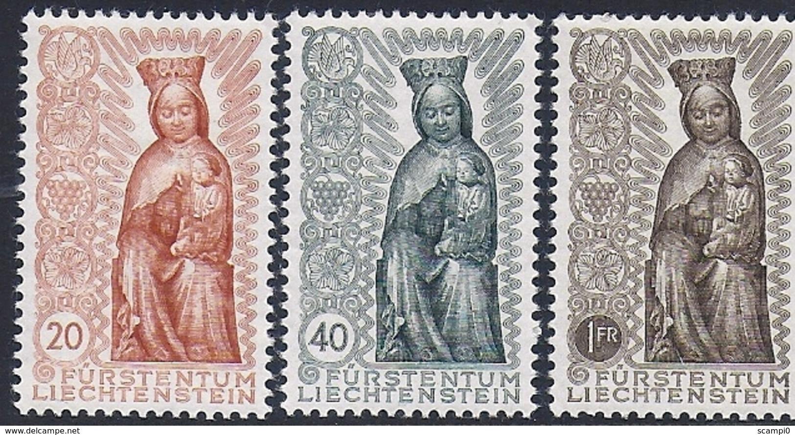 17518....LIECHTENSTEIN No. 273 à 275  ** - Liechtenstein