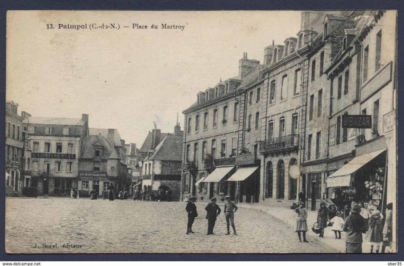 Paimpol Place Du Martroy - Paimpol