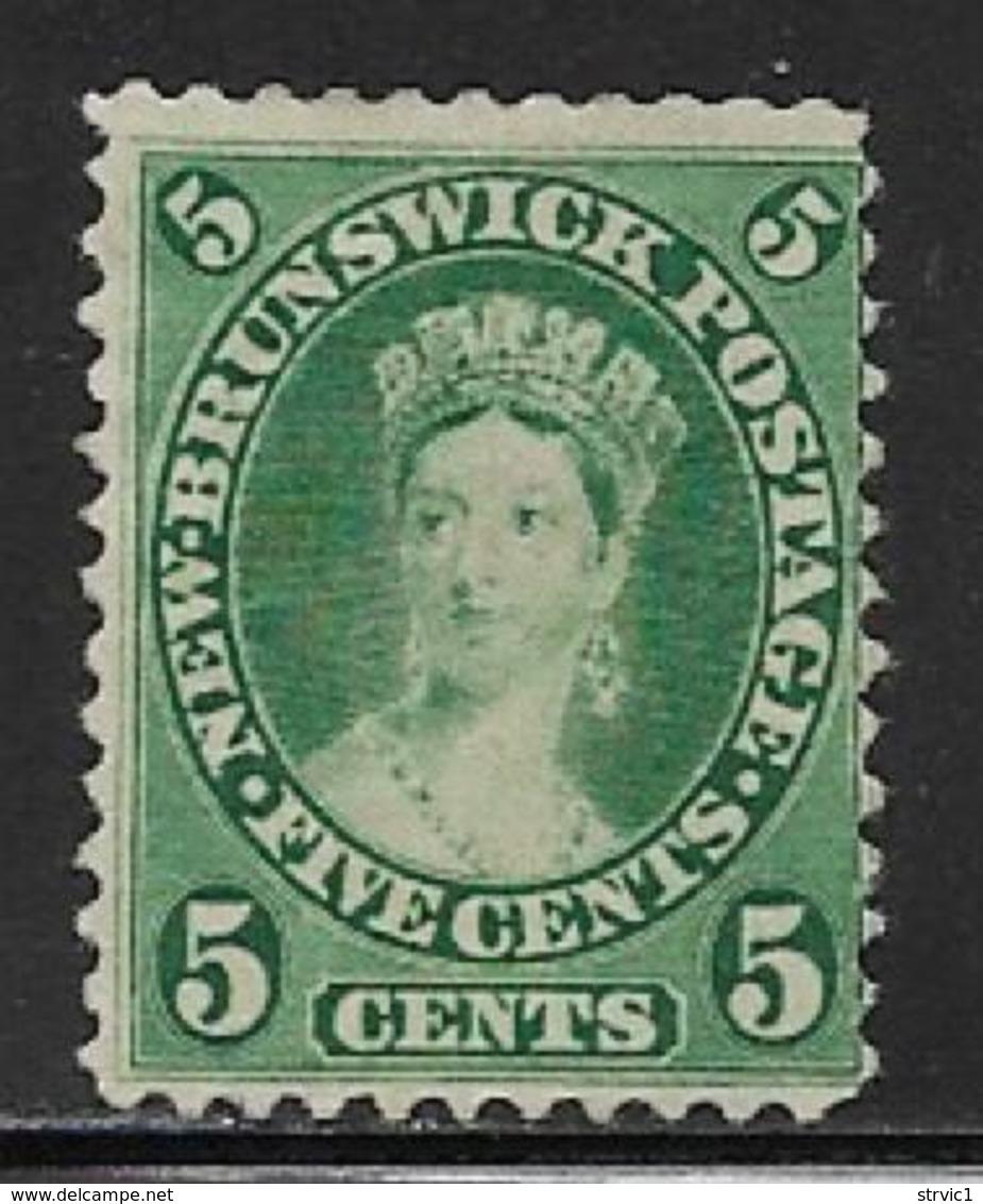 Canada New Brunswick Scott # 8 Unused No Gum Victoria, 1860 - Unused Stamps