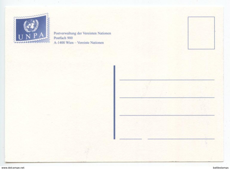 United Nations - Vienna 2008 Postcard Prague Exhibition, Scott 429-430 - Wien - Internationales Zentrum
